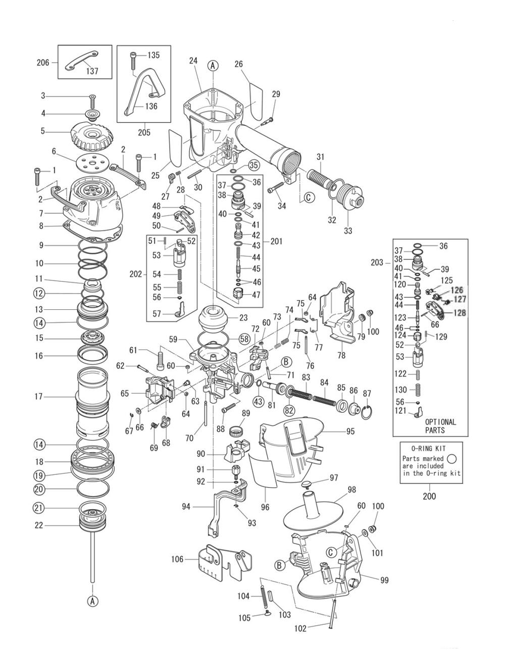 Max Cn665 Parts List