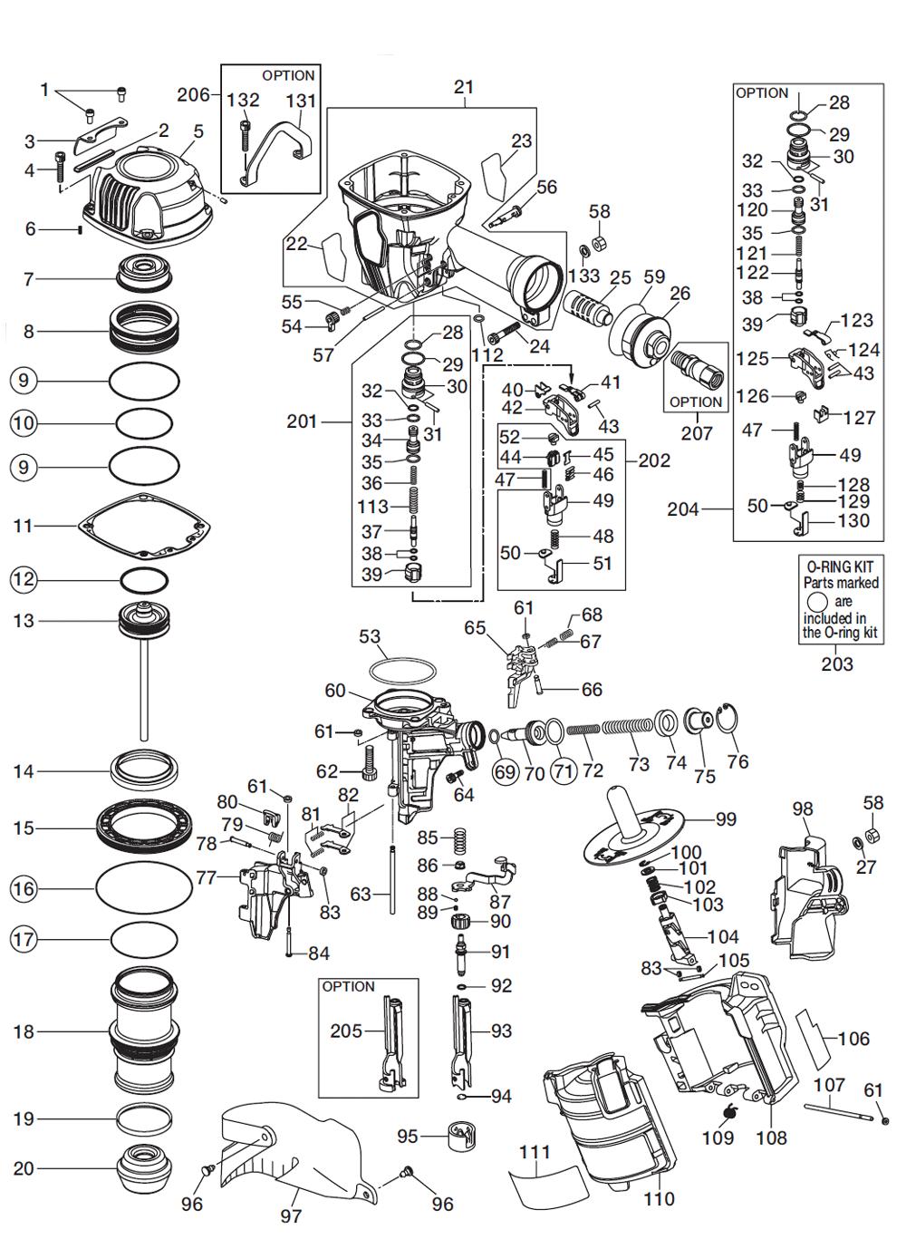 Max Cn890f Parts List