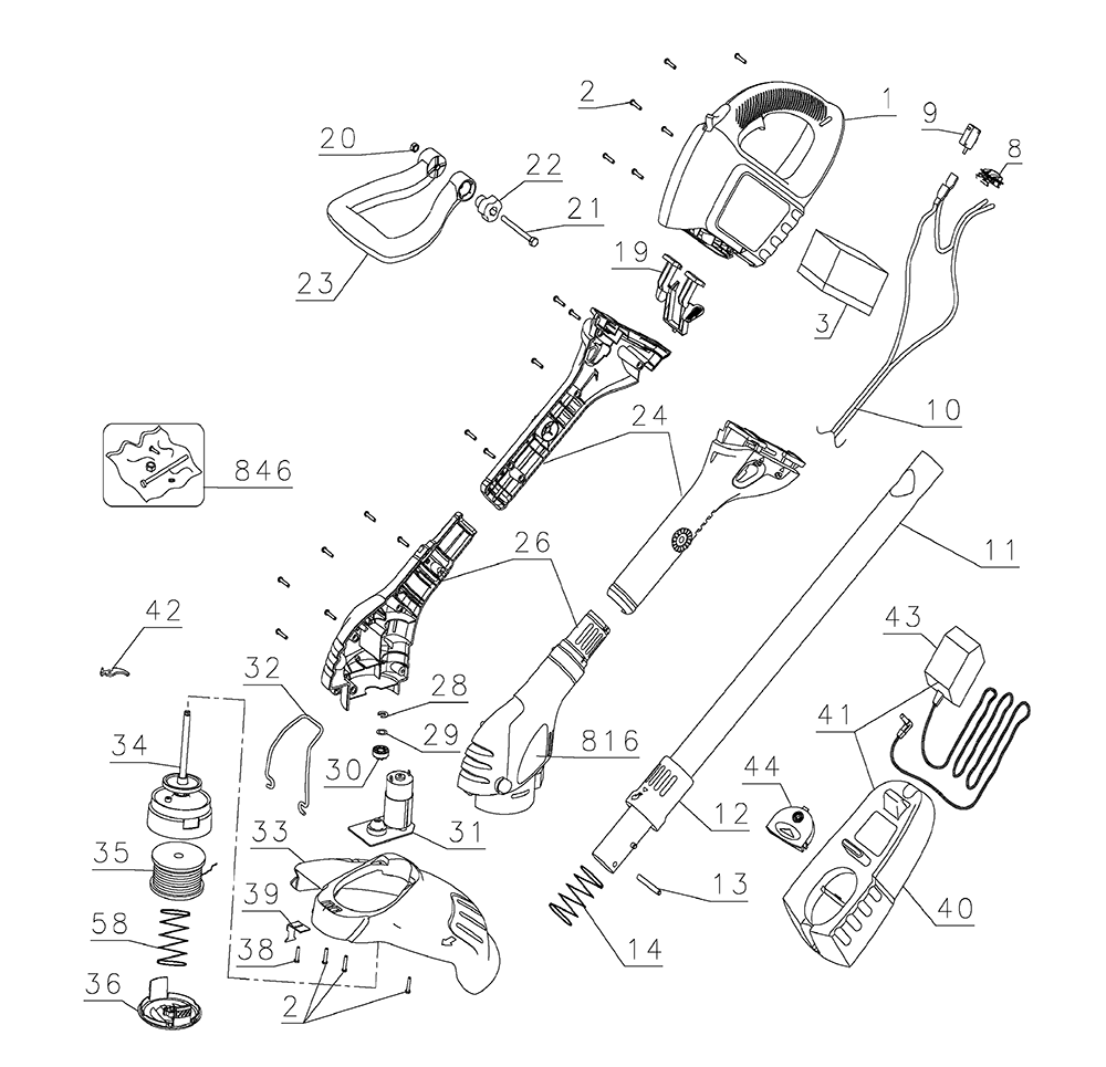 black and decker parts - 1000×965