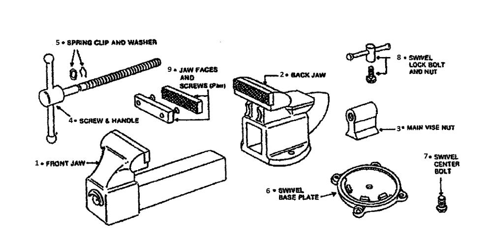 wilton d45m4 parts list