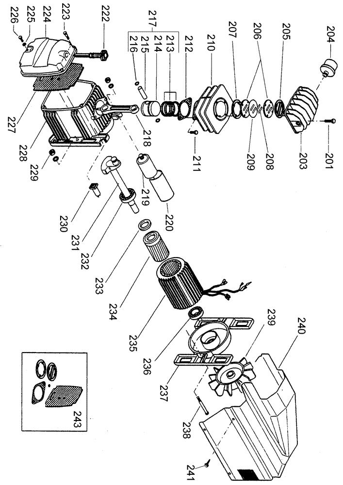 dewalt d55154 parts list