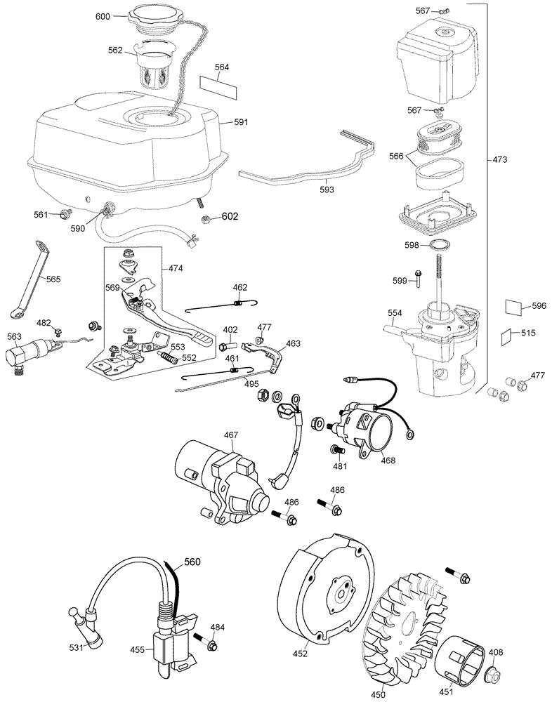 Dewalt D55695 Parts List