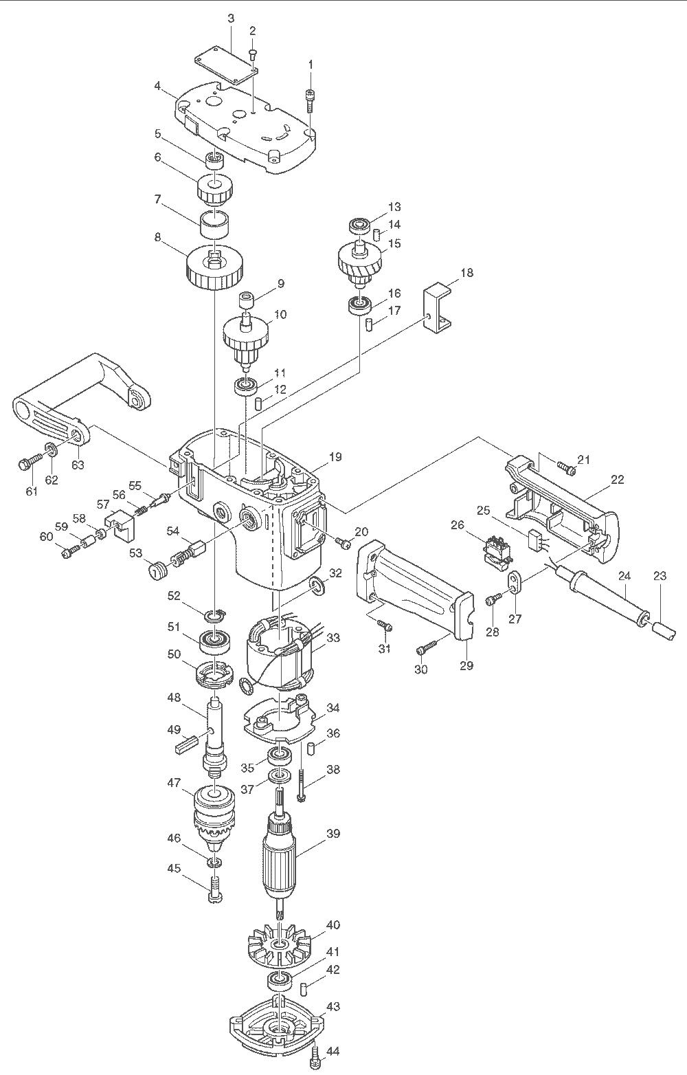 makita da6300 parts list