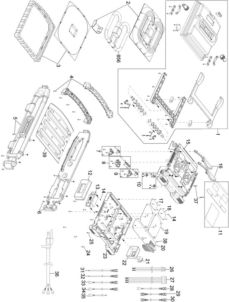 dewalt dc022 parts list dewalt dc022 repair parts oem parts with How a Flashlight Works dewalt dc022 parts schematic