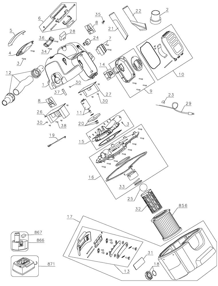 Dewalt Dc500 Parts List