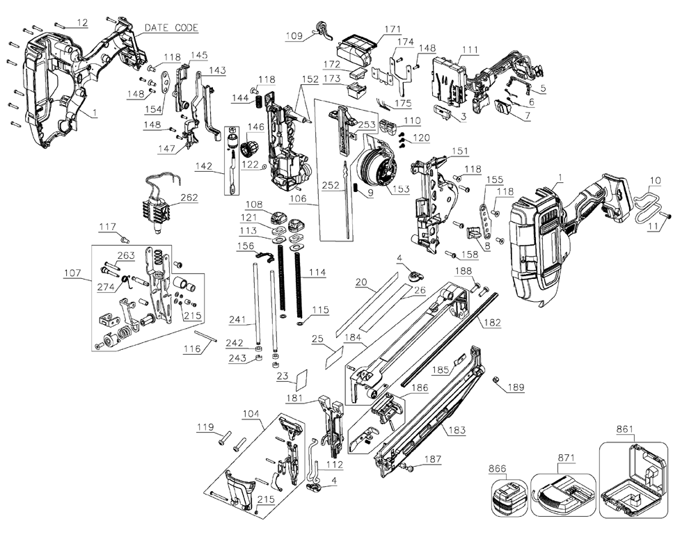 Parts For D55155 Type 1 Powerhouse Distributing