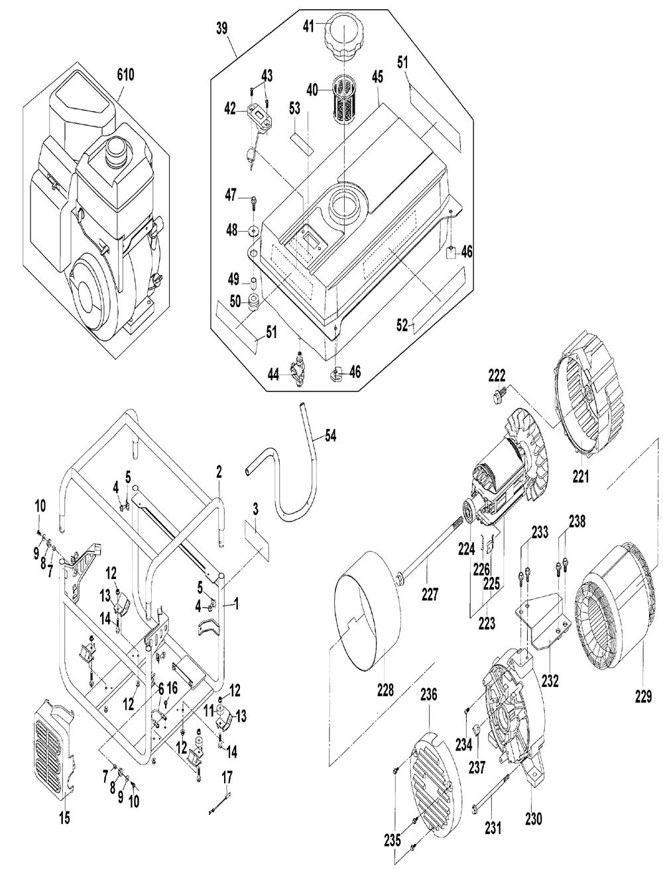 Dewalt Dg2900 Parts List