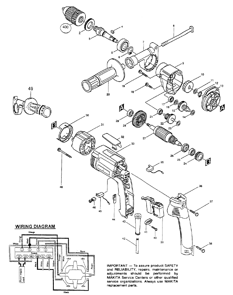 Makita 9227c Wiring Diagram | Wiring Diagram on grinder pumps diagram, grinder motor, grinder parts, grinder accessories,