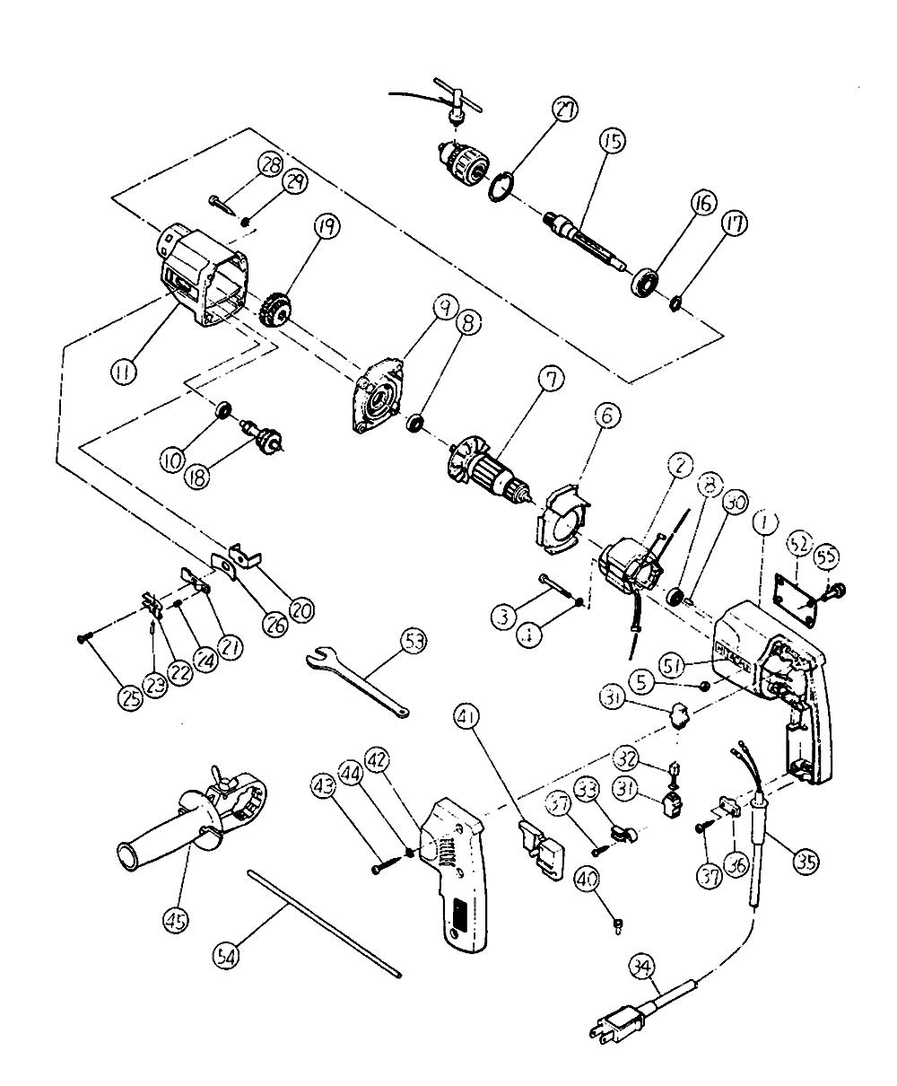 Hitachi DUT13 Parts List | Hitachi DUT13 Repair Parts | OEM Parts