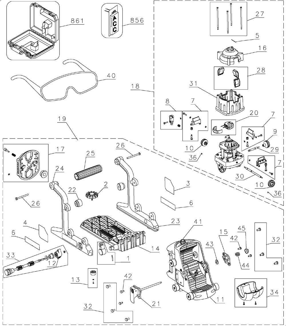 Dewalt Dw073kd Parts List Dewalt Dw073kd Repair Parts