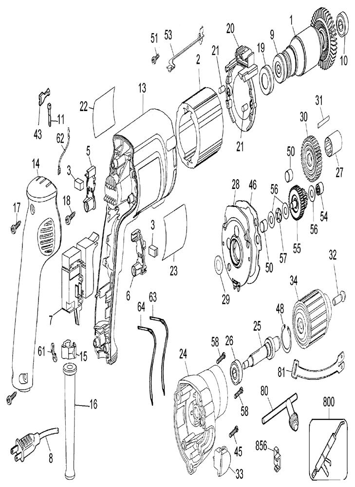 Dewalt Drill Parts