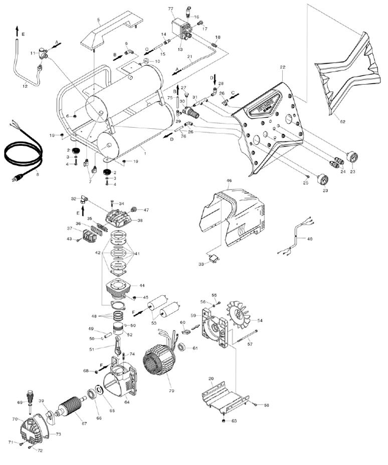 Hitachi Ec119sa Parts List