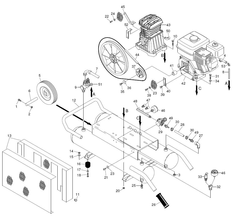 Hitachi 885482 Replacement Part for Air Conveyor Ec2510E