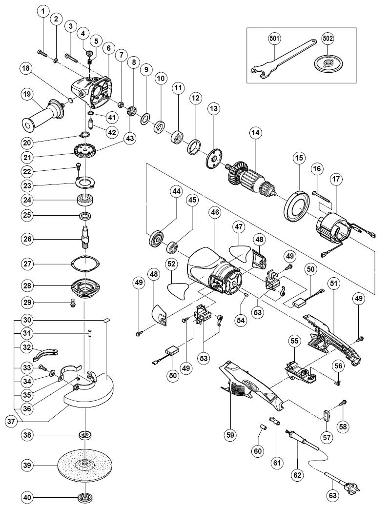 Hitachi G18mr Parts List