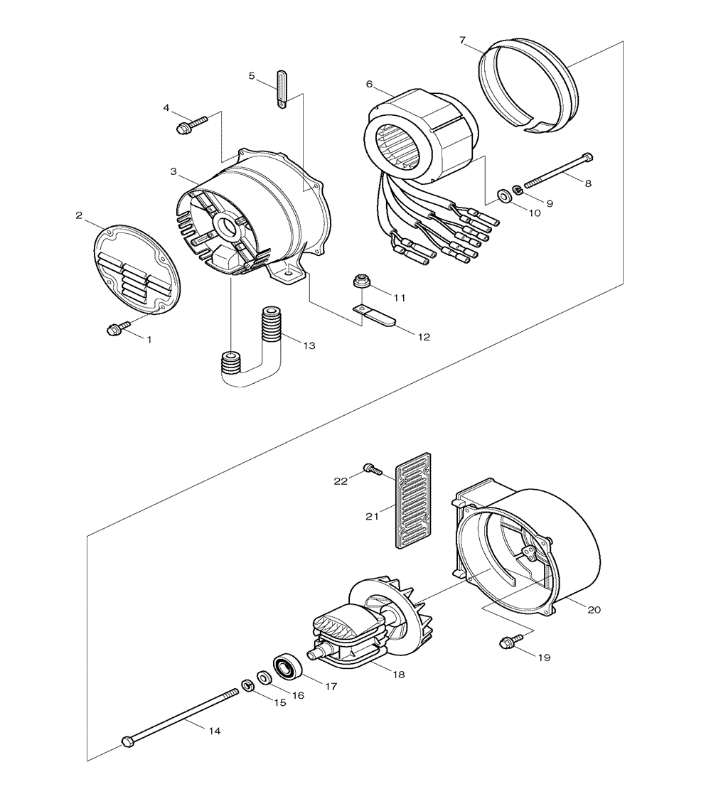 makita g5710r parts list
