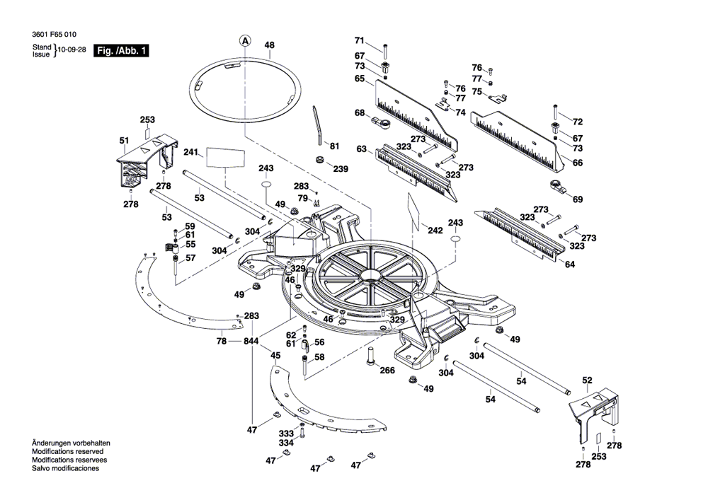 Bosch Gcm12sd Parts List