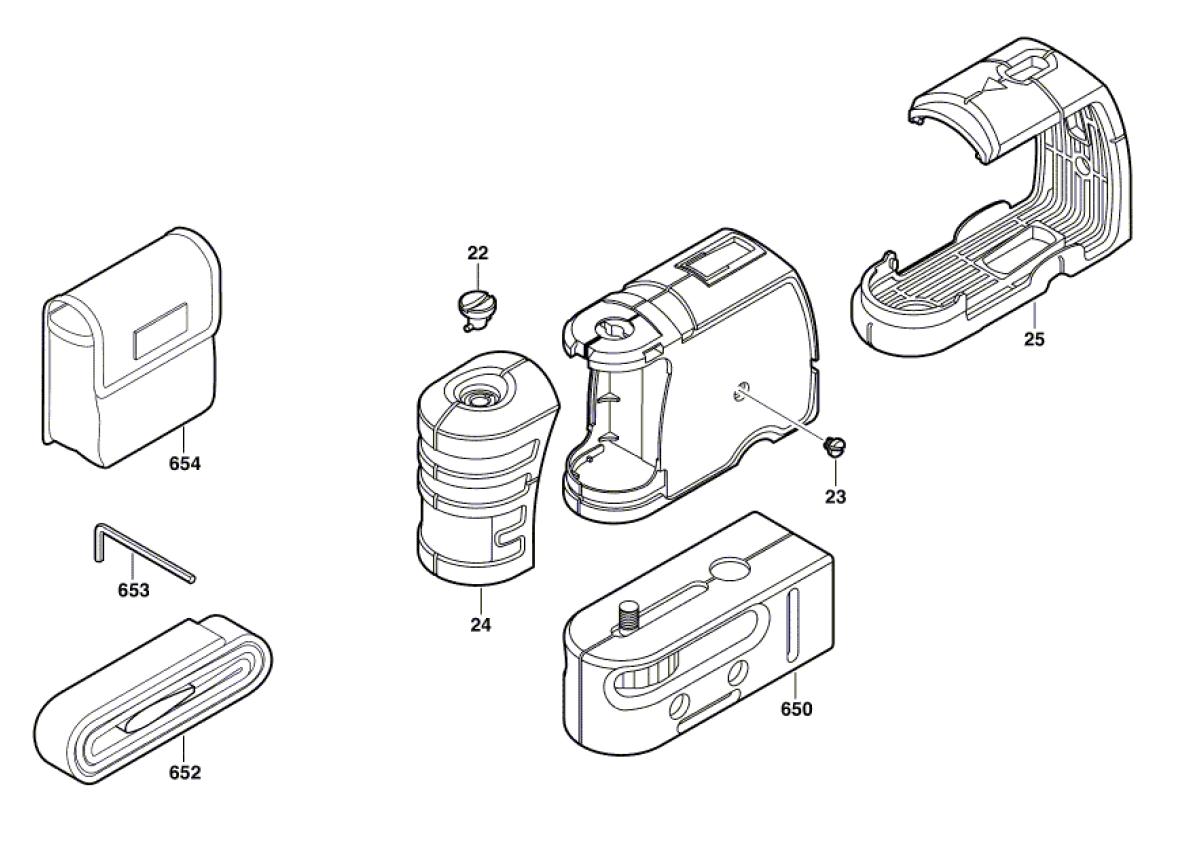Bosch Parts 1618C00489 Calibration Port Plug