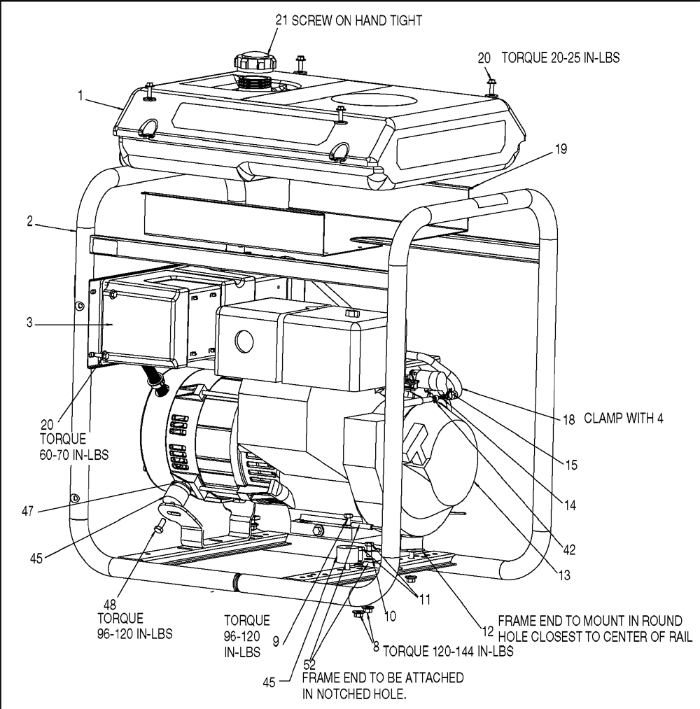 Porter Cable H450IS-W Parts Schematic