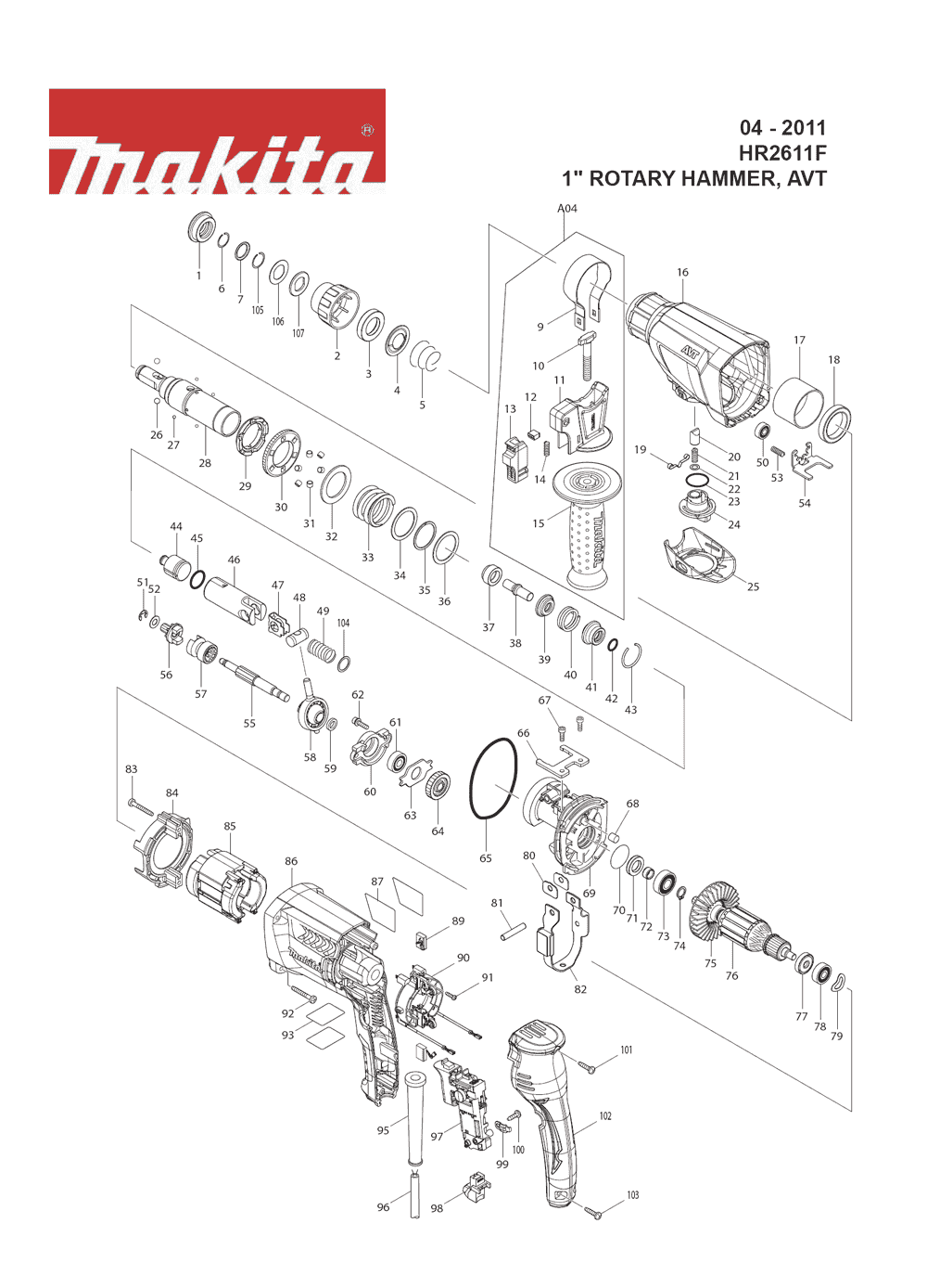 Makita Nb Wiring Diagram on