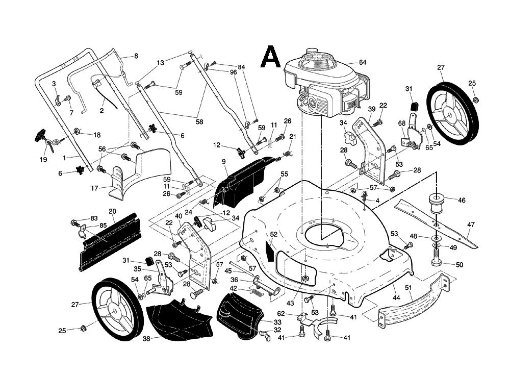 husqvarna lawns mowers parts list