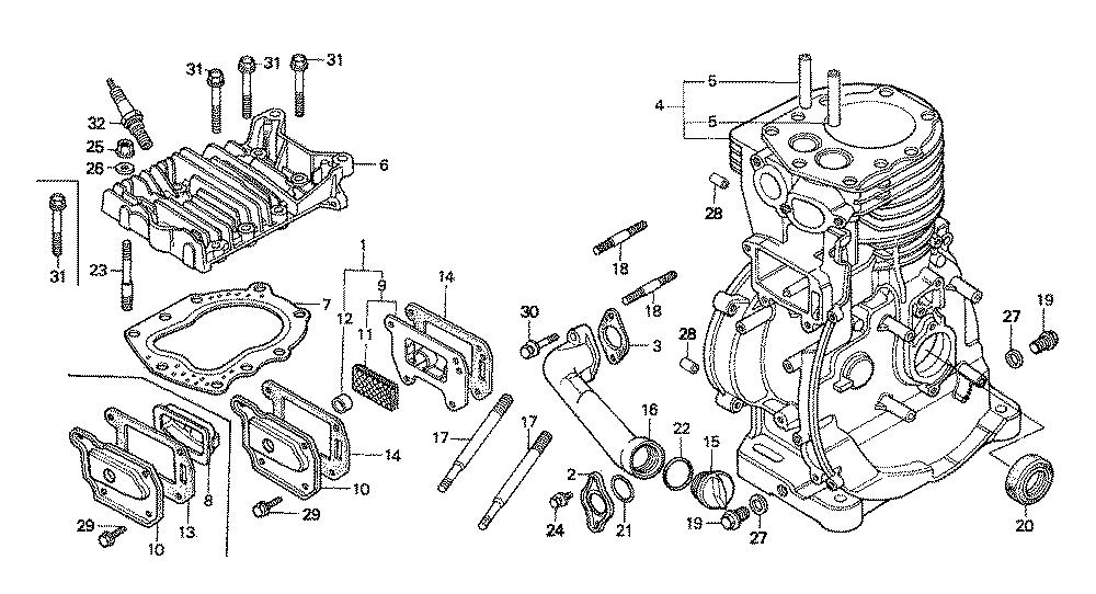 Honda G400