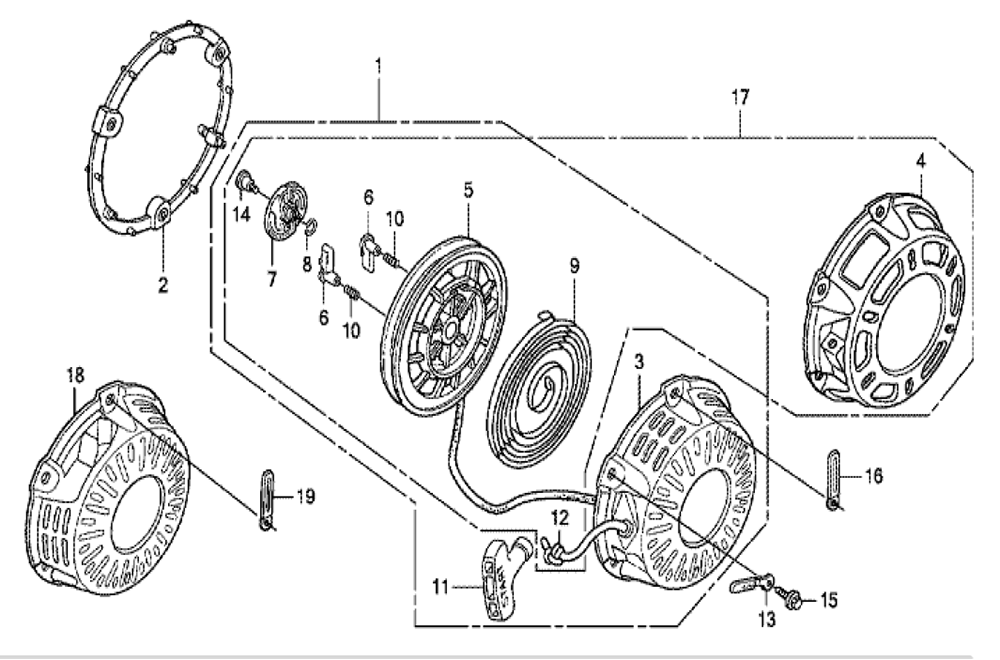29 Honda Gx200 Parts Diagram