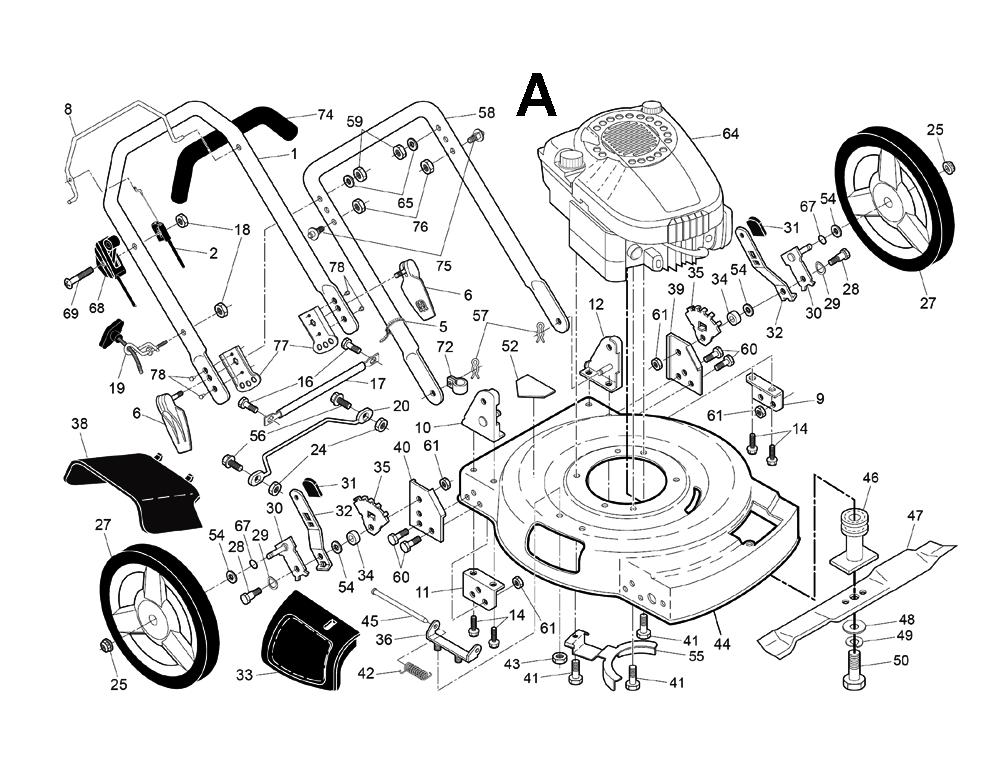 Husqvarna Lawn Tractors Replacement Parts : Husqvarna j sl parts list