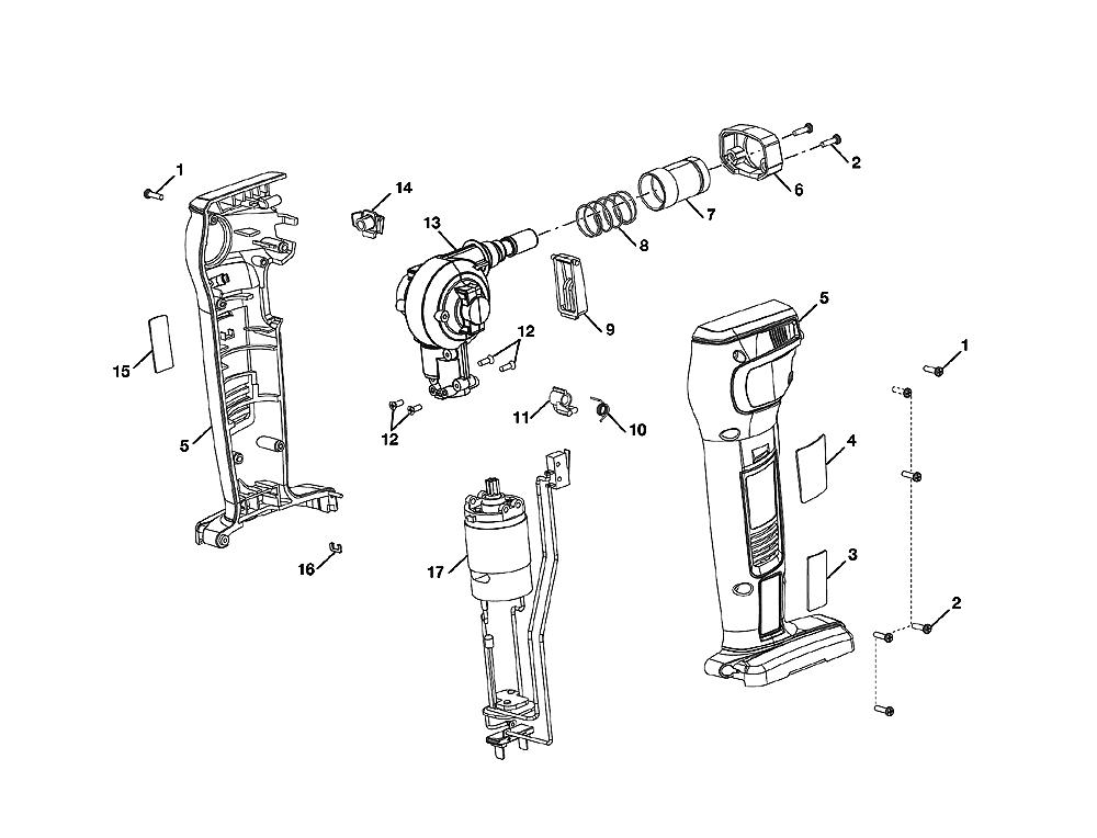 ryobi jg001 parts list