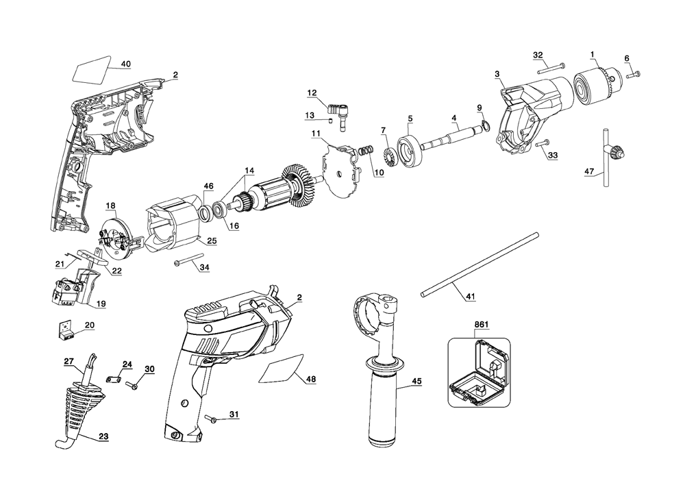 black and decker parts - 1000×712