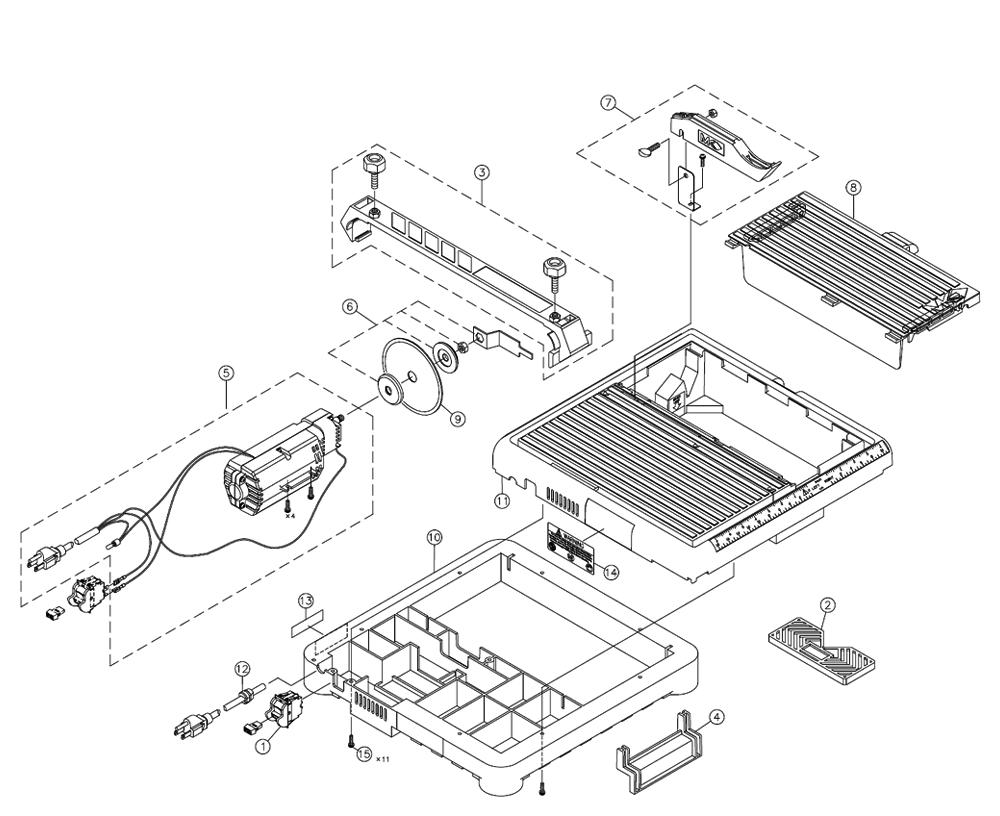 Mk Diamond 145 220v Parts Schematic