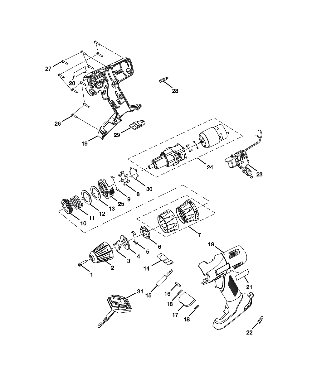 Ryobi Parts List Diagram Ry29550 Model Wiring P2006 And Ereplacementpartscom P201 Repair Oem With Tree Saw