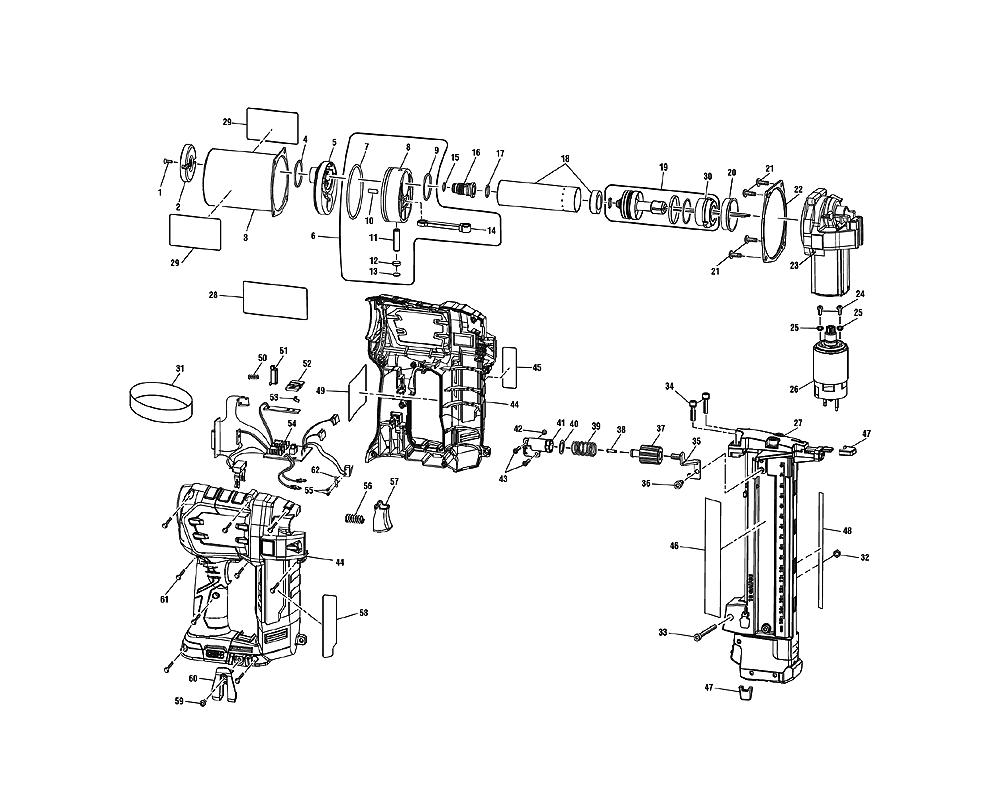 Ryobi    P360 Parts List      Ryobi    P360 Repair Parts   OEM Parts with    Schematic       Diagram