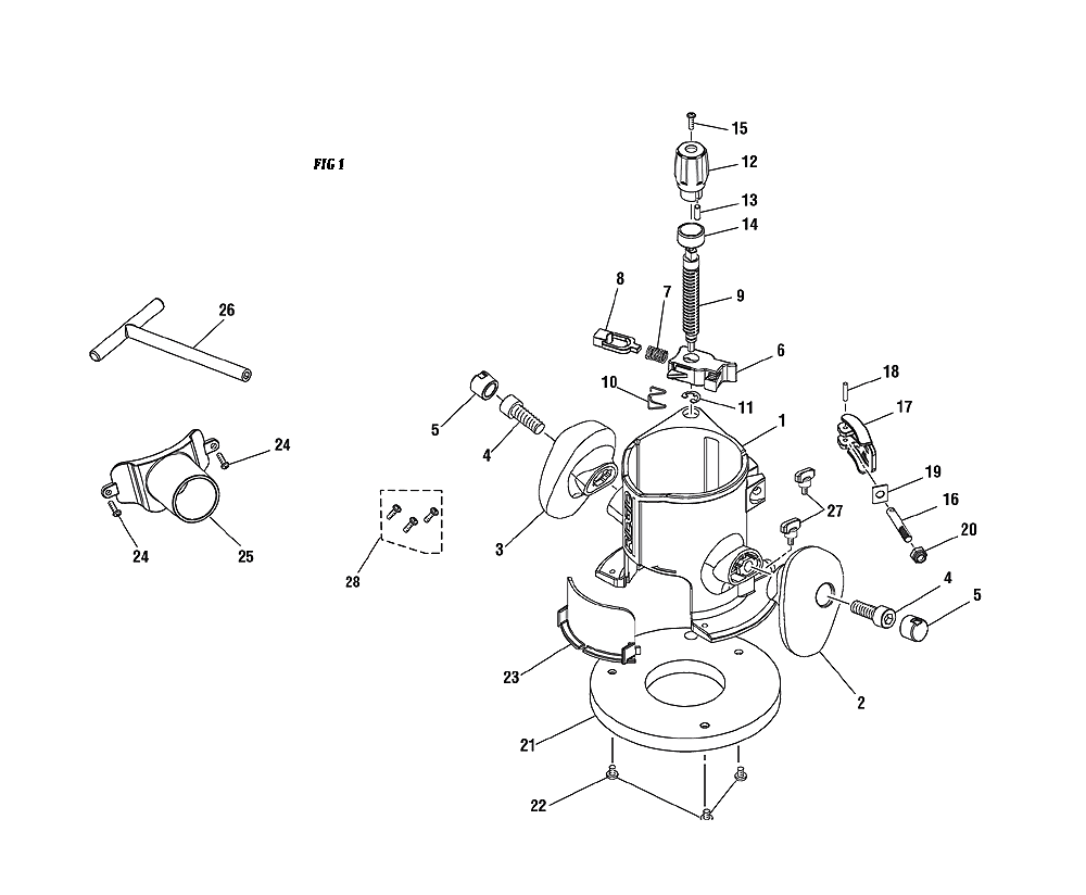 ridgid r2910 parts list