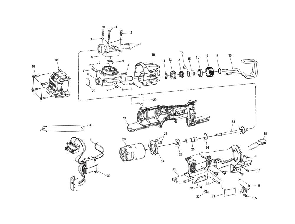 ridgid r86447 parts list