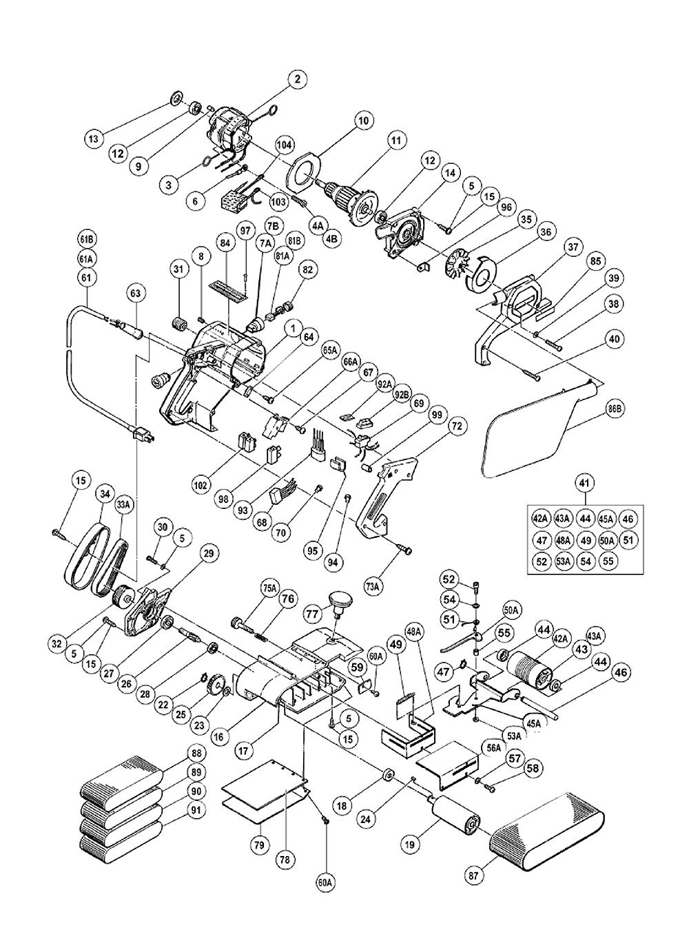 onderdelen hitachi sb10t