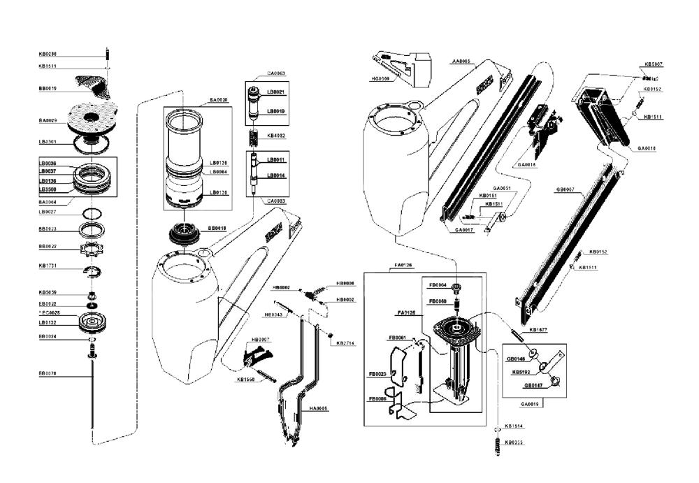Senco EC0028 Piston Main for SN3