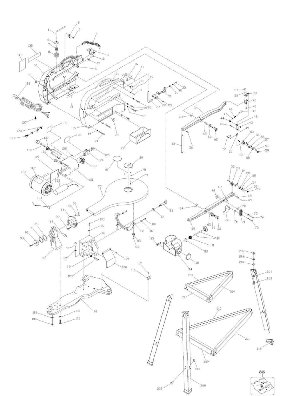 Main Body Diagram And Parts List For Dyson Inc Vacuumparts Model