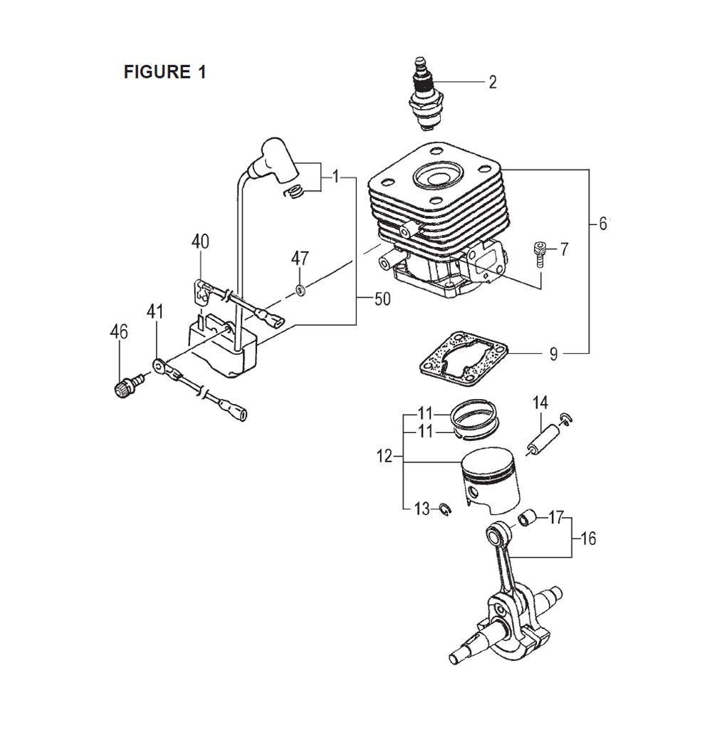 Tanaka Tps 260pf Parts List Repair Oem Magneto Wiring 25cc Schematic
