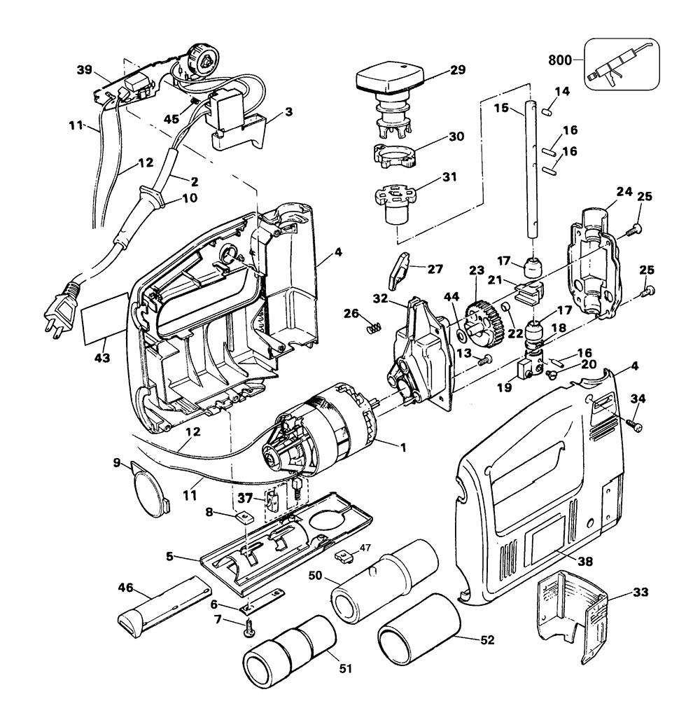 black and decker parts - 1000×1018