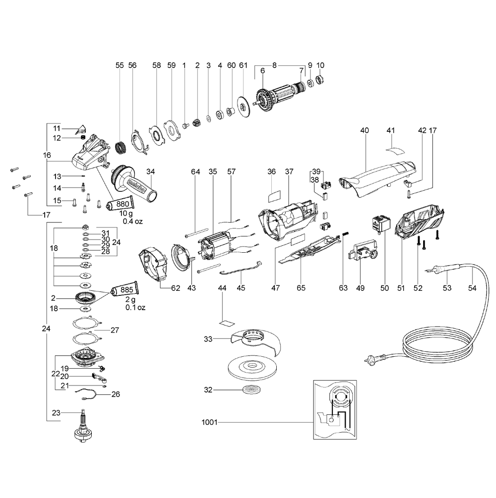 metabo wiring diagram detailed schematics diagram metabo parts list metabo  wepba14 150quick protect (00322420)